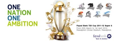 Faysal Bank T20 Cup 2012 Schedule